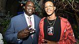 Shaquille O'Neal et son fils Shareef le 7 août 2017 à Hollywood
