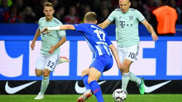 Germania:Bayern ko contro Hertha Berlino