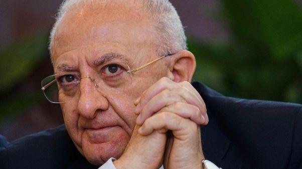 Crescent: assolto il governatore De Luca