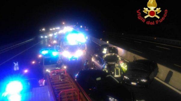 Incidente, 1 morto e 3 feriti a Sondrio