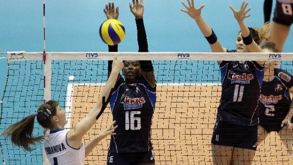 Volley: Mondiali donne,Italia debutto ok