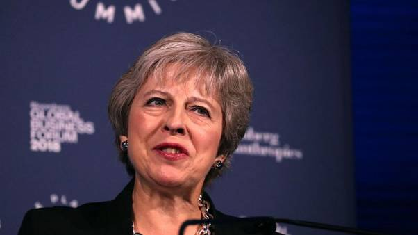 At conference, British PM May faces party divided by Brexit