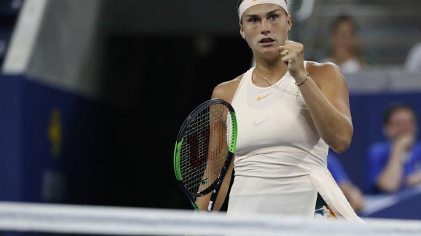 سبالينكا تهزم كونتافيت وتحرز لقب بطولة ووهان للتنس