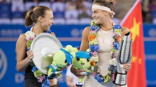 Tennis: Sabalenka remporte le titre à Wuhan