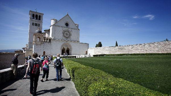 Tutto pronto ad Assisi per S. Francesco