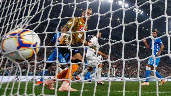 رونالدو يساهم في أهداف يوفنتوس الثلاثة في الفوز على نابولي