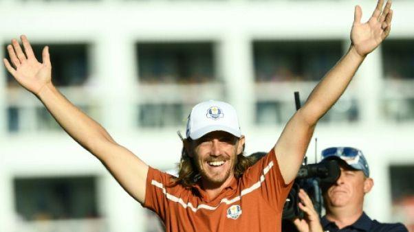 Ryder Cup: l'Europe sur la bonne voie, Woods aux abois