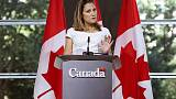 Canada postpones U.N. address to focus on NAFTA