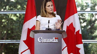 Canada postpones U.N. address to focus on NAFTA