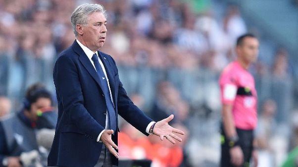 Ancelotti:Rosso Rui?Arbitro superficiale