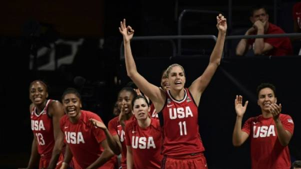 Basket: les Etats-Unis en finale du Mondial en battant une vaillante Belgique