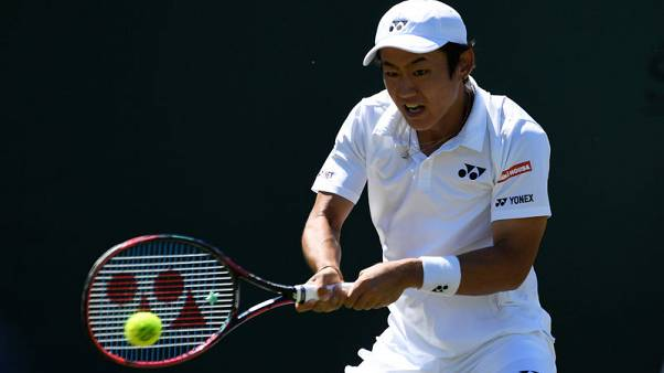 Tennis - Nishioka halts Verdasco in Shenzhen semi-finals