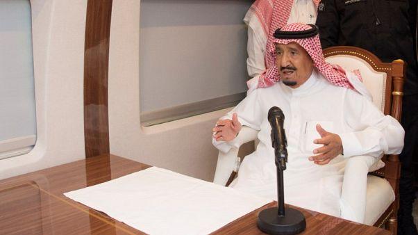 ترامب يتصل بالعاهل السعودي لمناقشة إمدادات النفط