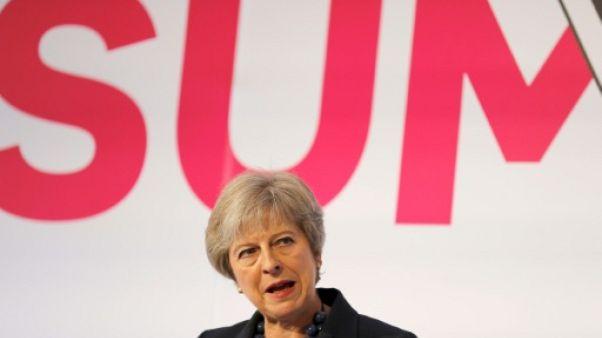 La Première ministre britannique à Londres le 19 septembre 2018.