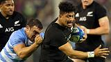 Rugby - All Blacks show ominous strength in depth one year from World Cup