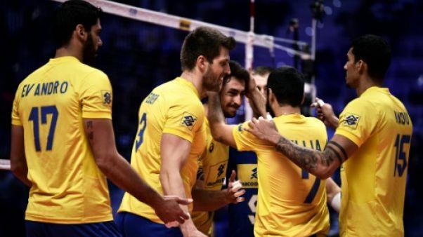 Mondial de volley: Brésil-Pologne en finale, la revanche de 2014