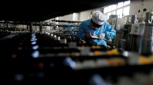 الخلافات التجارية تضر بالقطاع الصناعي الصيني في سبتمبر