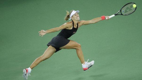 China Open, Kerber passa primo turno