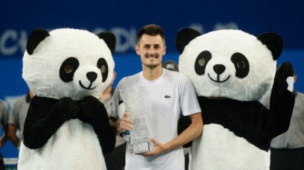 Tennis: premier titre pour l'Australien Tomic depuis 2015
