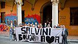 Attivisti Lega, solidarietà a Salvini