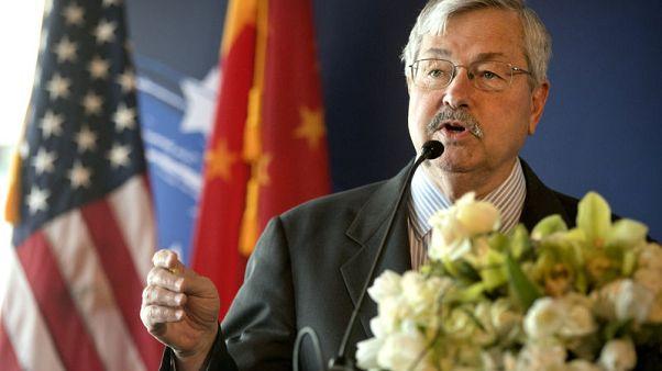 U.S. ambassador accuses China of 'bullying' with 'propaganda ads'