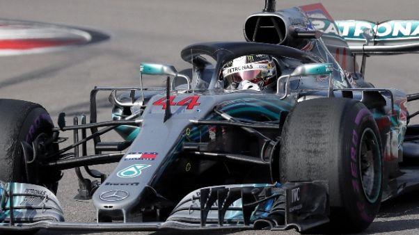 Hamilton vola a +50 punti su Vettel