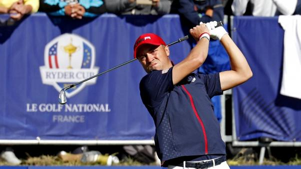 Golf - Thomas beats McIlroy on 18th to give U.S. hope