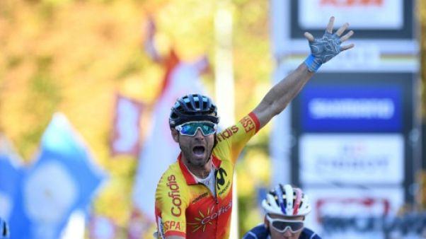 Cyclisme: Valverde bat Bardet pour le titre mondial
