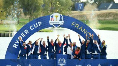 Ryder Cup: l'Europe l'emporte face aux Etats-Unis, au bout du suspense