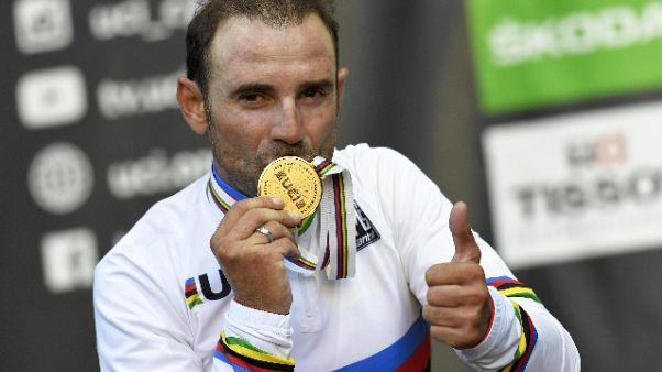 Ciclismo: Valverde, sognavo il Mondiale
