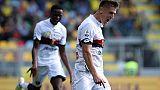 Piatek fa volare Genoa,Zaza-gol per Toro