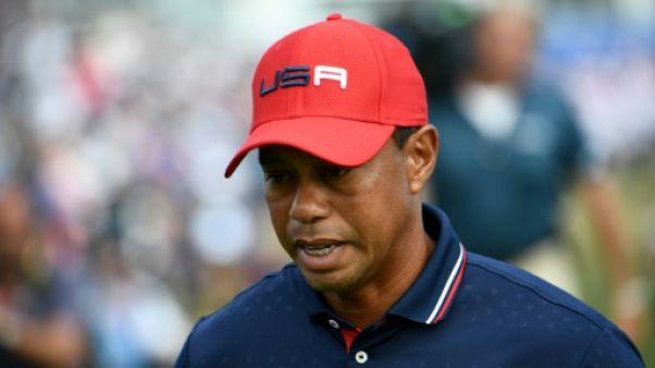 """Ryder Cup: """"Je suis l'un des facteurs ayant contribué à notre défaite"""" reconnait Woods"""