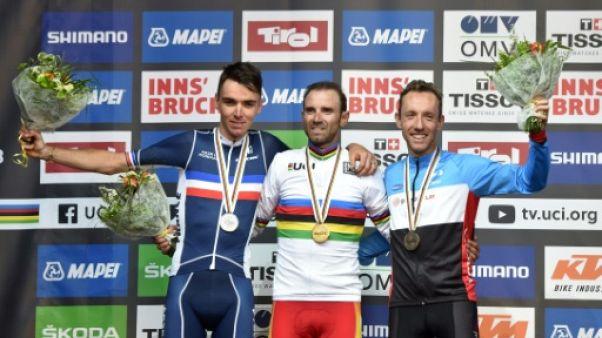 Cyclisme: Valverde d'or à 38 ans, Bardet d'argent