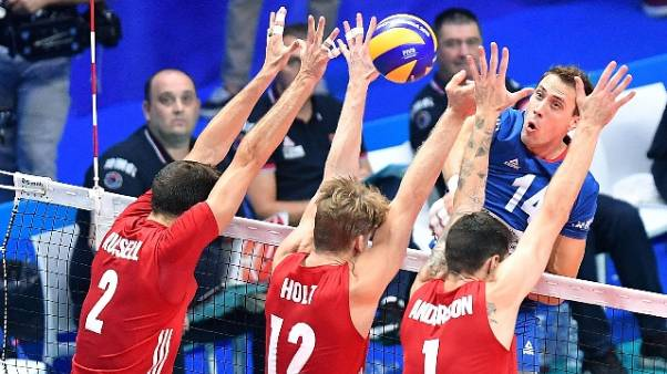 Mondiali volley: 3-1 a Serbia, Usa terzi