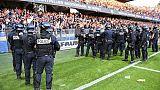 Le match Montpellier-Nîmes reprend une 2e fois après une longue interruption