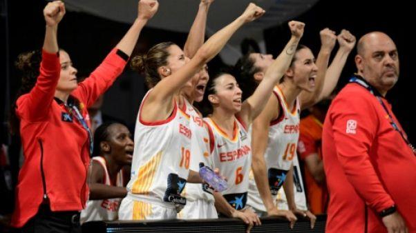 Basket: les Espagnoles se contentent du bronze