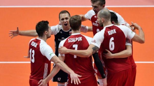 Volley: les Polonais conservent leur titre