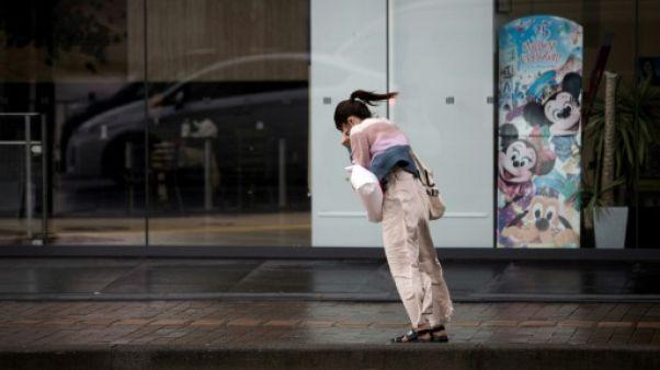 Japon: le typhon Trami fait au moins quatre morts et une centaine de blessés