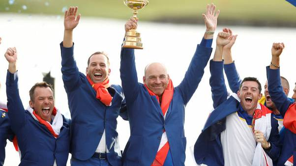 Ryder Cup the winner as Paris hits hole in one