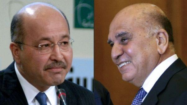 En Irak, compétition inédite entre Kurdes pour le poste de président