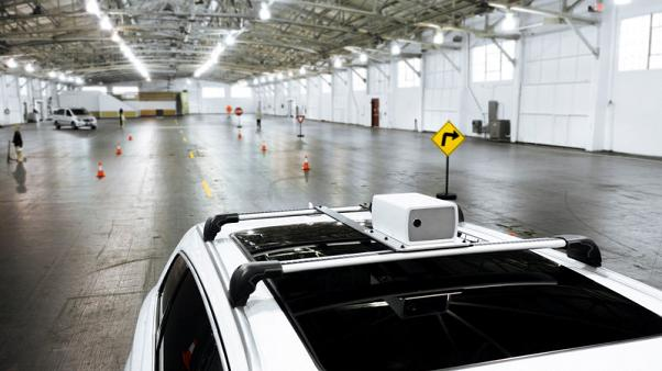 Ex-Apple engineers show their startup's self-driving car sensor