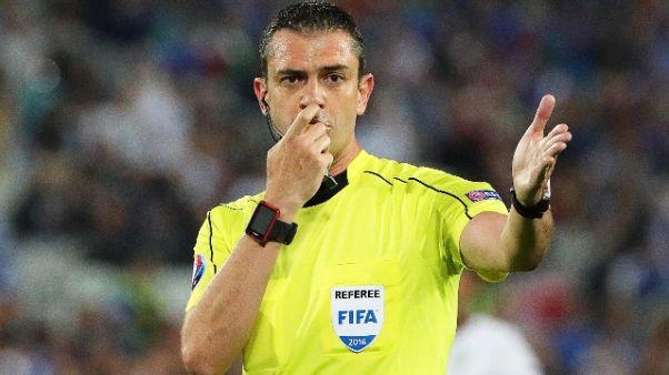 Kassai è l'arbitro di Napoli-Liverpool