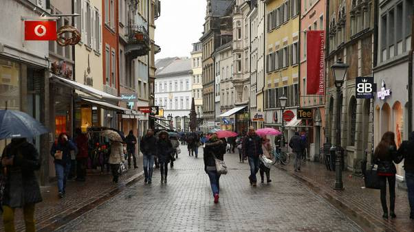 German retail sales fall second month in a row