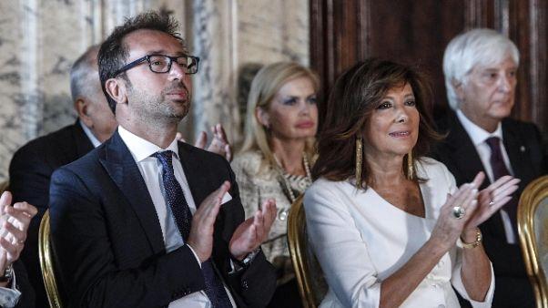 Vitalizi:Casellati, al Senato il 16/10