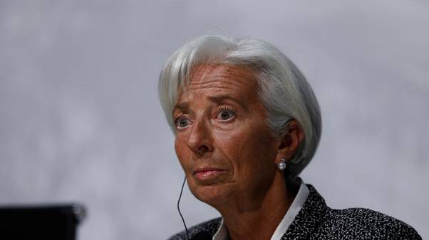 IMF's Lagarde warns trade conflicts dimming global growth outlook