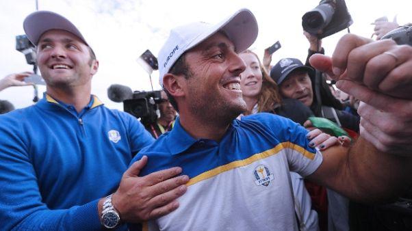 Golf:Molinari, contributo a unità Europa