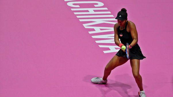 Tennis - Rejuvenated Osaka powers past Diyas in China opener