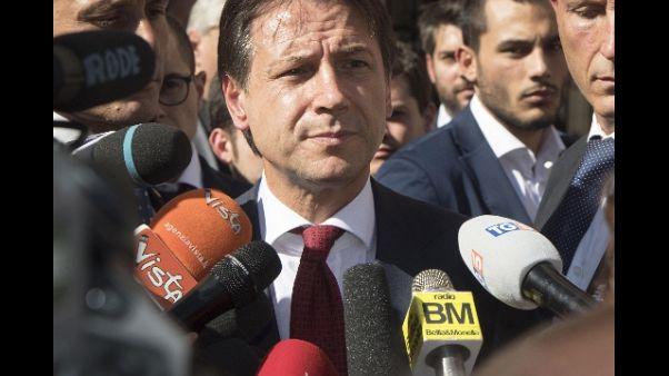 Conte, con Mattarella clima sereno