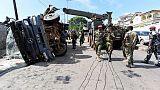 Sierra Leone military truck flips over, killing 13