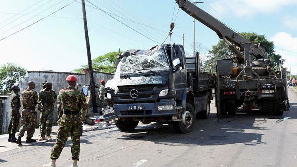 مقتل 13 شخصا في انقلاب شاحنة عسكرية في سيراليون